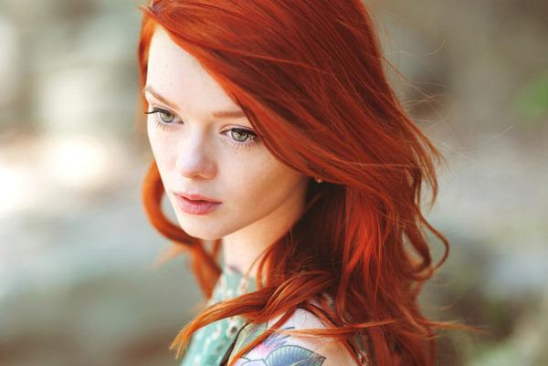 Рыжая красавица картинки
